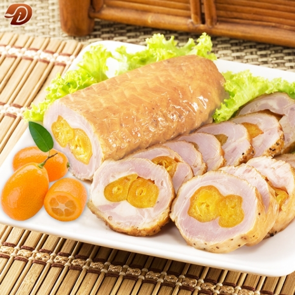 金桔雞肉卷 1