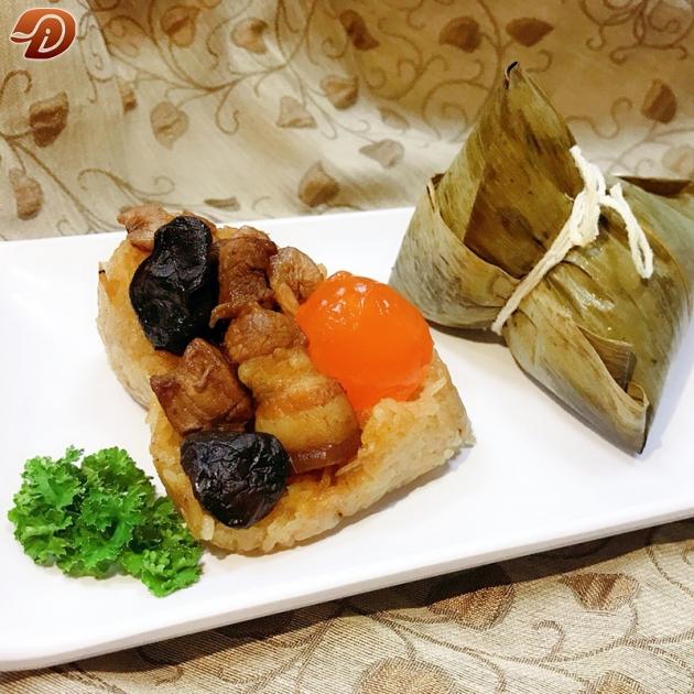 豬肉粽 (豬肉x鹹鴨蛋黃) 1