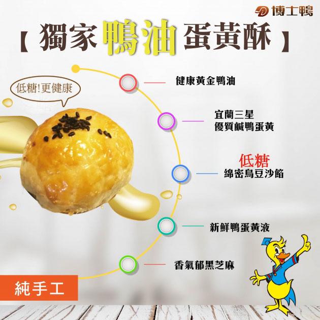 黃金鴨油蛋黃酥(6入禮盒)(預購中) 2